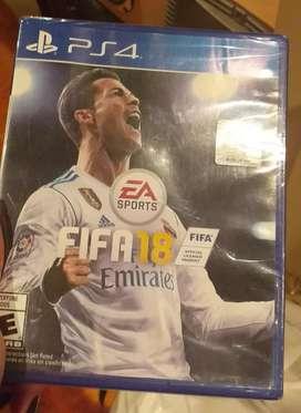 FIFA 18 sellado para play 4