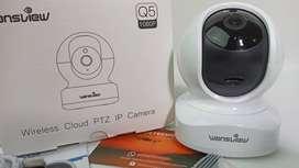 Cámara compatible con Alexa Wansview Cámara De Seguridad 1080p Hd