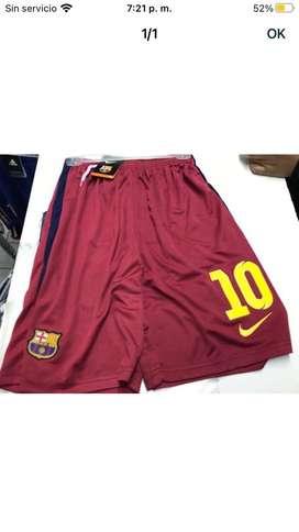 Short futbol 10 barcelona