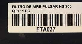 Filtro De Aire Bajaj Ns-200 Hada