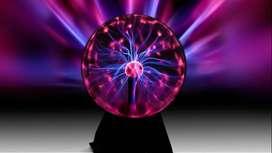 Lámpara Esfera Bola De Plasma Relámpago Sensible Al Tacto Rayos