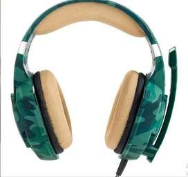 Audífonos Gamer En Diadema Kotion G2600 Microfono Usb Y Led
