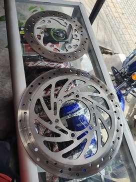 Frenó discos delantero y trasero KTM duke 250 y/o compatibles