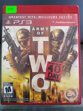 Video Juego PS3 Army of Two The 40th Day Gamer Mando TV Play