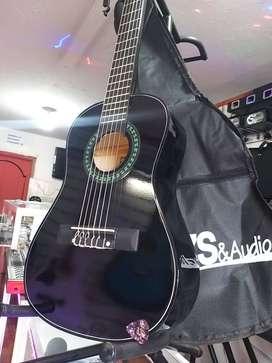 Guitarras clásicas de calidad para niños de 3 hasta 7 años de promoción + estuche + vitela