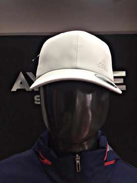 gorra adidas blanca lisa original