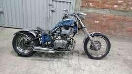 Moto tipo choper