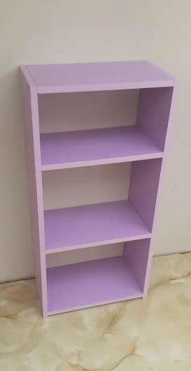 Librero estante de melamina