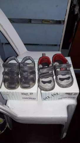 zapatos número 25