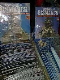 Barco Escala para armar ( Bismarck ) de Salvat
