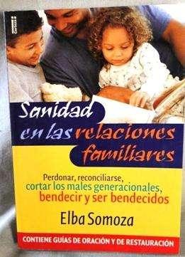 SANIDAD EN LAS RELACIONES FAMILIARES   ELBA SOMOZA