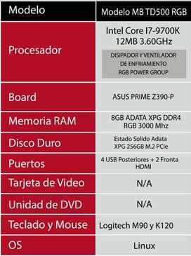 Torre Core I7-9700K