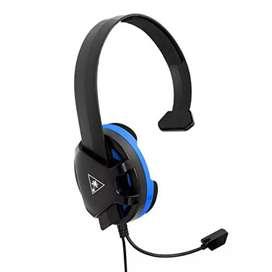 Vendo diademas gamer ps4 de un solo casco