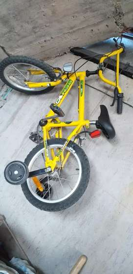 Vendo bici para niño rodado 16