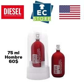 Perfume marca Diesel 75ml hombre original