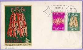 sobre Primer Día de España de 1972