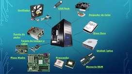 (USADOS)Discos duros, memorias RAM, procesadores, tarjetas WIFI y otros.Condicion: Usados