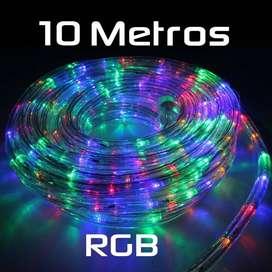 ROLLO MANGUERA LED RGB 10 METROS