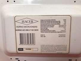 Horno microondas haceb AR HR -07 DX INOX