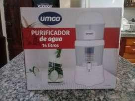 Purificador de agua UMCO nuevo de paquete