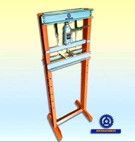 Prensa Hidráulica De Pie Profesional 12 Tn Metalforte