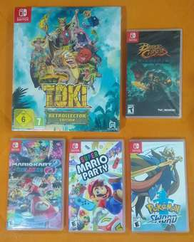 Juegos Nintendo Switch 3DS