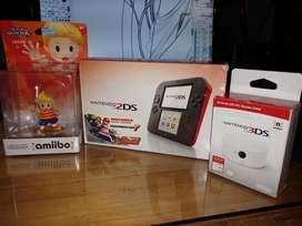 Nintendo 2ds (combo - Precio Negociable)