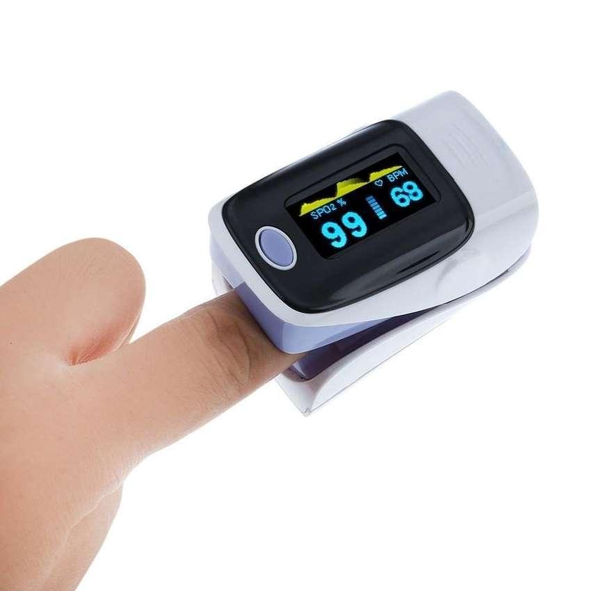 Pulso Oximetro Pulsoximetro Saturador Frecuencia Cardíaca Ceritificado Nuevos Con Garantia 0