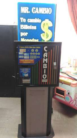Máquina cambiadora de monedas