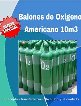 Balones de Oxigeno Americano