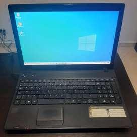 Portátil Acer Aspire 5253  - Memoria Ram 4GB- Disco 320GB