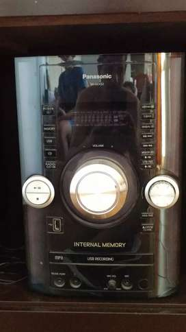 Equipo de audio Panasonic SA AKX52