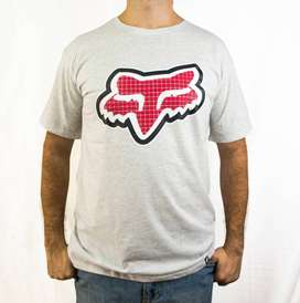 Camiseta adidas Fox Nike Ropa Masculina Estampada / Paga al recibir