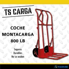 Coche Montacarga Rojo 800 Lb