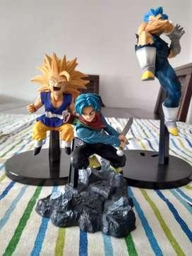 Dragón ball Goku ssj3, Vegeta dios, Trunks super, D's Dragon Ball Z/GT