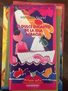 Vendo libros de plan lector Panamericana, excelente estado