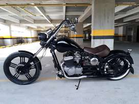 Moto Chopper personalisada !!!