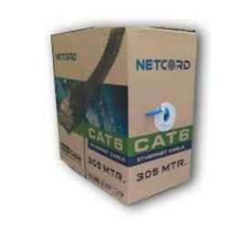 CABLE UTP CATEGORIA 6E INTERIOR NETCORD 305 MTS