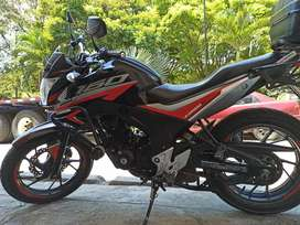 Moto Honda cb160f (negociable)