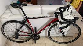 Bicicleta optimus de ruta