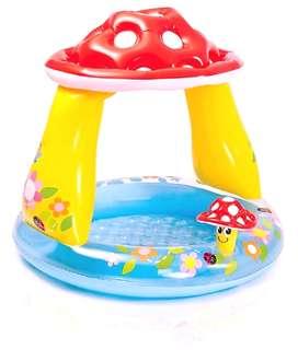 Piscina Inflable Intex Niños Hongo Agua 1.02x89cm