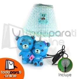 Lamparas Decorativas Para Niños Y Niñas (Osos Azules)