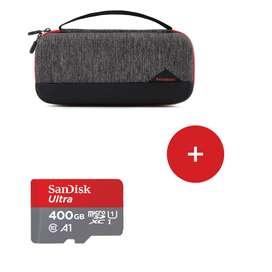 Case Nintendo Switch Funda Bagsmart Más Memoria Sandisk 400gb
