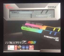 Memoria Ram Gskill Trident Z Rgb – 1X8gb - 3200mhz - Cas14