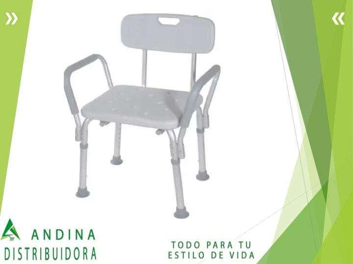 Silla De Baño Con Espaldar 0