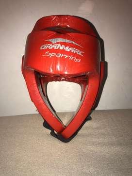 Cabezal casco artes marciales