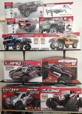 Espectaculares carros RC Nitro, gasolina, eléctricos. Repuestos, servicio técnico. Envíos nacionales, recibimos tarjetas