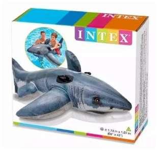 Tiburón Inflable Piscina Niños Intex 57525 0
