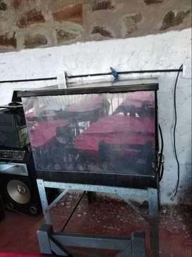 vendo horno pizzero de acero inoxidable