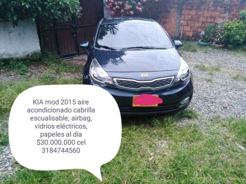 Kia Rio Exelente Estado 0